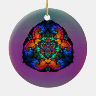 Ornamento Tri Lobulado de las insignias Ornamento De Reyes Magos