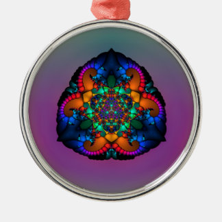 Ornamento Tri Lobulado del premio de las insignias Ornamento De Navidad