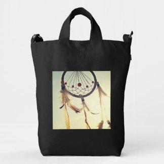 Ornamento tribal del colector del sueño del bolsa de lona duck