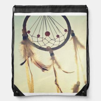 Ornamento tribal del colector del sueño del mochilas