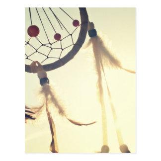 Ornamento tribal del colector del sueño del tarjetas postales