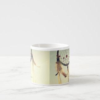 Ornamento tribal del colector del sueño del taza espresso