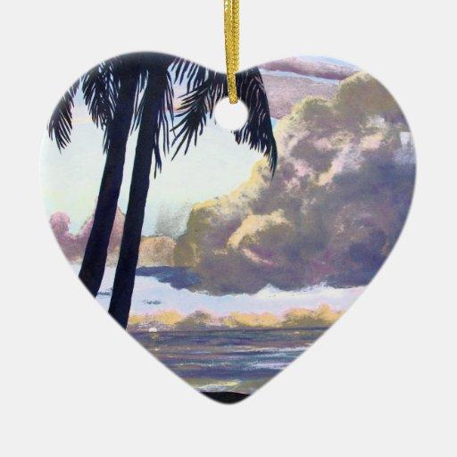 Ornamento tropical del cielo adorno de reyes