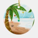 Ornamento tropical del navidad ornamentos para reyes magos