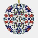 Ornamento turco de la teja adorno