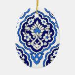 Ornamento turco de la teja adorno de reyes
