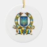 Ornamento ucraniano del navidad ornamento de reyes magos