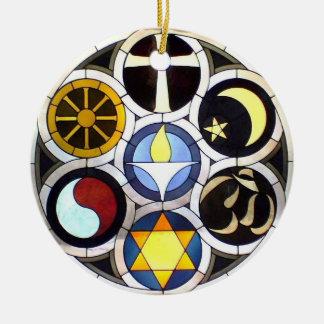 Ornamento universalista unitario del navidad ornaments para arbol de navidad