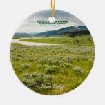 Ornamento: Valle de Lamar (redondo) Ornamento De Navidad
