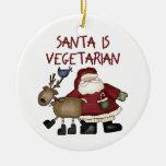 Ornamento vegetariano del navidad adorno para reyes