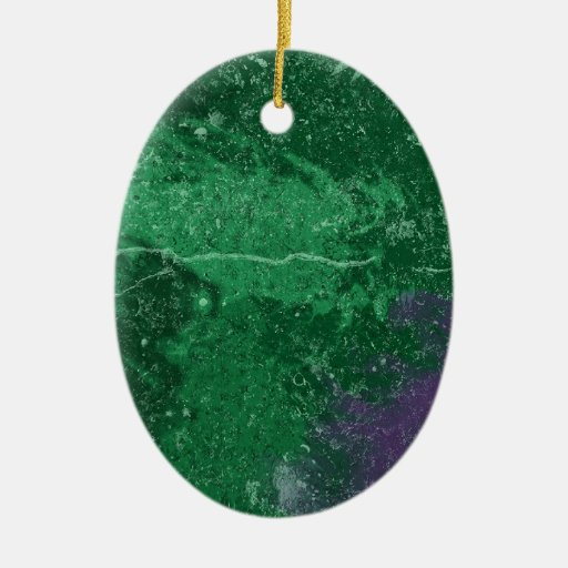 Ornamento verde tóxico de Avatar Ornamentos De Reyes Magos