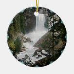 Ornamento vernal del vintage de Yosemite de las ca Ornamento Para Arbol De Navidad