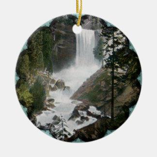 Ornamento vernal del vintage de Yosemite de las Ornamento Para Arbol De Navidad