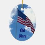 Ornamento viejo de la gloria adornos