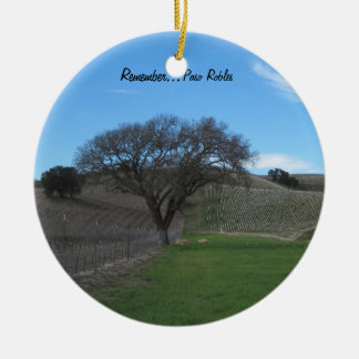 Ornamento: Viñedo escénico de Paso Robles Adorno De Reyes