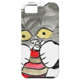 Ornamento y Kerry, el gatito del rojo y del oro iPhone 5 Case-Mate Protectores