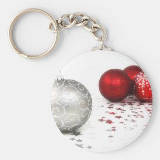 Ornamentos 10 del navidad llavero redondo tipo pin