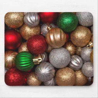 Ornamentos 2 del navidad alfombrillas de raton