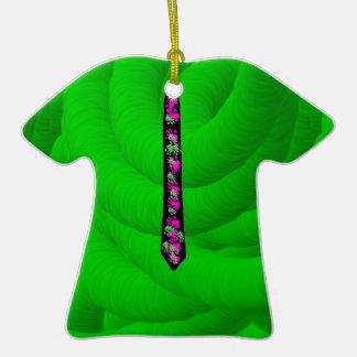 Ornamentos ADOLESCENTES de la camiseta y del lazo Ornatos