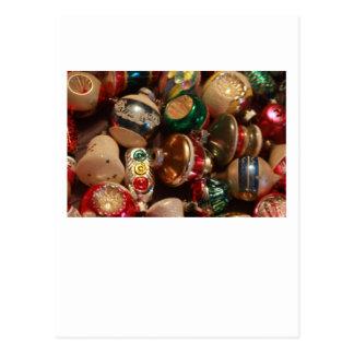 Ornamentos antiguos tarjeta postal