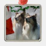 Ornamentos ásperos de los regalos del navidad del  ornamentos de reyes