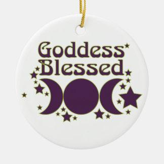 Ornamentos bendecidos diosa