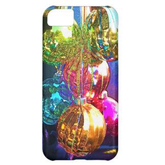 Ornamentos brillantes del navidad funda para iPhone 5C