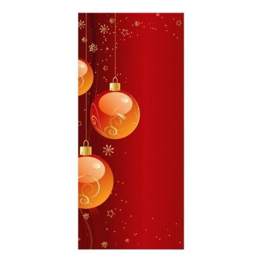 Ornamentos brillantes del navidad lonas personalizadas