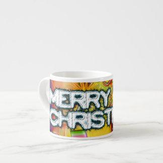 Ornamentos brillantes taza espresso