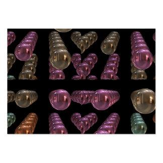 Ornamentos coloridos del navidad tarjetas personales