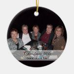 Ornamentos de encargo de la foto de familia de Kat Ornamentos De Reyes