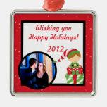 Ornamentos de encargo personalizados del navidad adorno