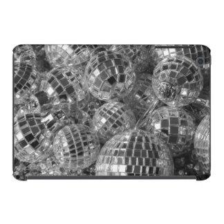 Ornamentos de la bola de discoteca fundas de iPad mini