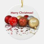 Ornamentos de la bola del navidad adorno