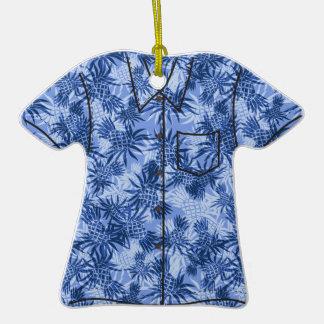 Ornamentos de la camisa de hawaiana de Camo de la Ornamento De Reyes Magos