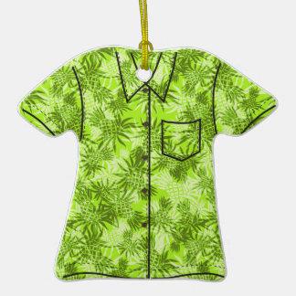 Ornamentos de la camisa de hawaiana de Camo de la Adornos De Navidad