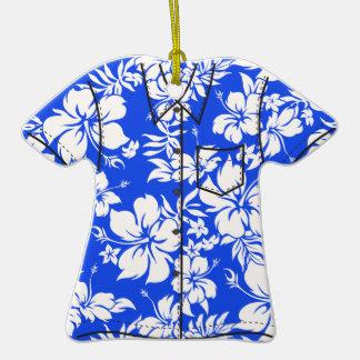 Ornamentos de la camisa de hawaiana de Pareau del Ornatos