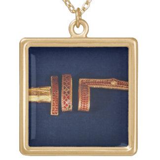 Ornamentos de la espada del tesoro de Childeric I  Collar Personalizado