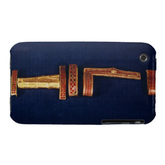 Ornamentos de la espada del tesoro de Childeric I  iPhone 3 Case-Mate Cárcasa