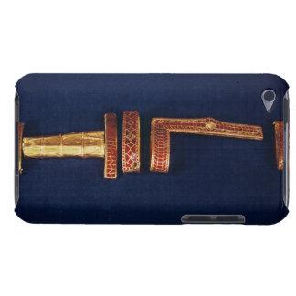 Ornamentos de la espada del tesoro de Childeric I  Case-Mate iPod Touch Protectores