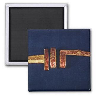 Ornamentos de la espada del tesoro de Childeric I  Iman De Nevera