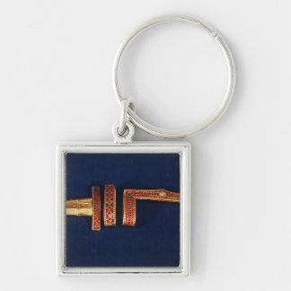 Ornamentos de la espada del tesoro de Childeric I  Llaveros Personalizados