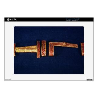 Ornamentos de la espada del tesoro de Childeric I  Calcomanías Para Portátiles