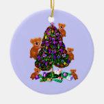 Ornamentos de la mañana de navidad de las koalas ornamentos para reyes magos