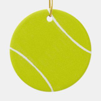 Ornamentos de la pelota de tenis ornamentos para reyes magos
