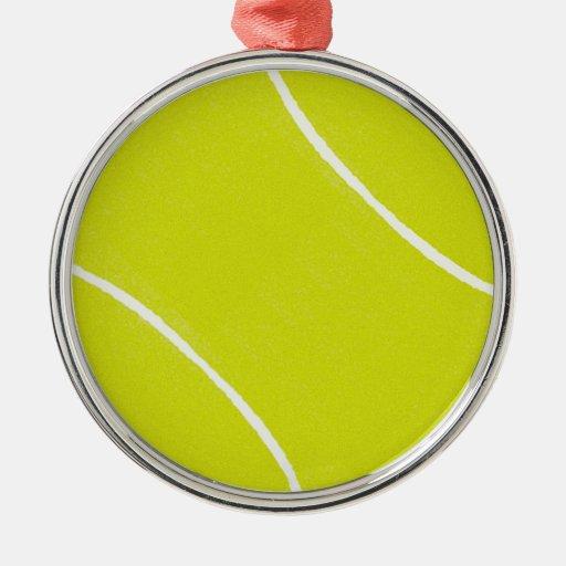 Ornamentos de la pelota de tenis ornamento para reyes magos