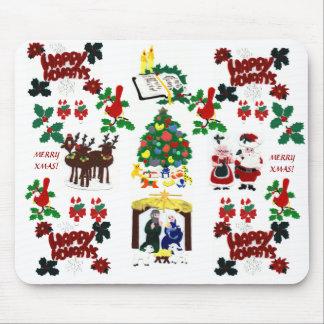 ¡Ornamentos de Navidad! Cojín de ratón Tapete De Ratones