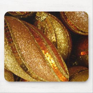 Ornamentos de oro alfombrilla de raton