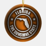"""Ornamentos decorativos de acero de la """"Florida"""" (o Ornaments Para Arbol De Navidad"""
