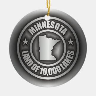 Ornamentos del acero de Minnesota Ornamento Para Arbol De Navidad